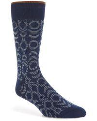 Bugatchi | Geometric Socks | Lyst