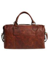 Frye - 'logan' Leather Overnight Bag - Lyst