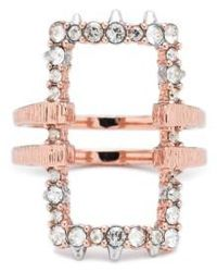 Alexis Bittar - Elements Rectangle Ring - Lyst