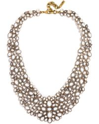 BaubleBar - 'kew' Crystal Collar Necklace - Lyst