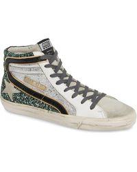 Golden Goose Deluxe Brand - Slide High Top Sneaker - Lyst