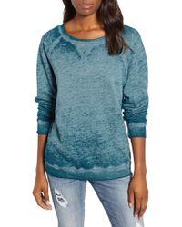 Caslon - Caslon Burnout Sweatshirt - Lyst