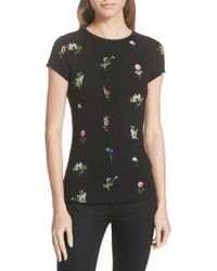 Ted Baker - Roobey Florence Fitted Tee - Lyst