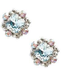 Sorrelli - Hibiscus Crystal Earrings - Lyst