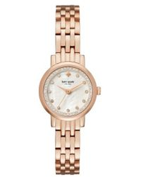 Kate Spade - Mini Monterey Glitz Bracelet Watch - Lyst