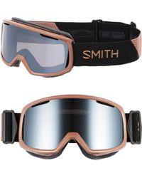 5a7be18e236 Smith - Riot Chromapop 180mm Snow ski Goggles - Champagne - Lyst