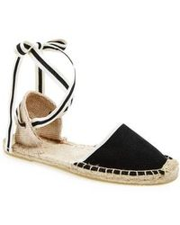 Soludos - Lace-up Espadrille Sandal - Lyst