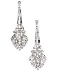 Ben-Amun - Crystal Drop Earrings - Lyst