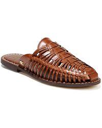 1aaa98faf5f Lyst - Vince Camuto Ceara Huarache Block-heel Dress Sandals in Brown