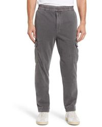 James Perse - Cotton Jersey Relaxed Fit Cargo Pants - Lyst