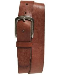 John Varvatos | John Varvatos Star Usa Classic Leather Belt | Lyst