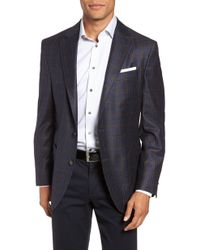Peter Millar - Classic Fit Check Wool Sport Coat - Lyst