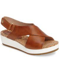 Pikolinos - 'mykonos' Platform Sandal - Lyst