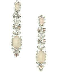 Elizabeth Cole - Phee Crystal Drop Earrings - Lyst