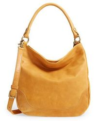 Frye - Melissa Leather Hobo - Metallic - Lyst
