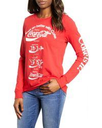 Lucky Brand - Coca Cola Language Tee - Lyst