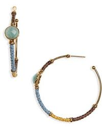 Gas Bijoux - Creole Hoop Earrings - Lyst
