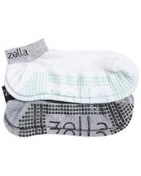 Zella - 2-pack Studio Ankle Socks - Lyst