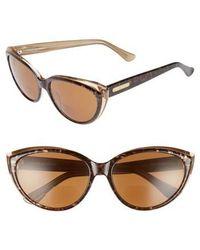 Corinne Mccormack - Corrine Mccormack Anita 59mm Reading Sunglasses - Dark Leopard - Lyst