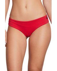 Volcom - Simply Modest Bikini Bottoms - Lyst