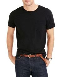 J.Crew   J.crew Slim Fit Broken-in Pocket T-shirt   Lyst