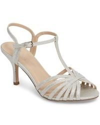 Paradox London Pink - Maggie T-strap Sandal - Lyst