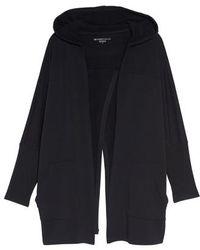 Beyond Yoga - Love & Fleece Split-back Hooded Cardigan - Lyst