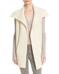 Brochu Walker - 'oak' Alpaca Blend Sweater Vest - Lyst