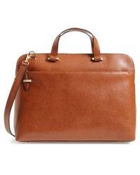 Lodis - Medium Jamie Rfid Leather Briefcase - Lyst