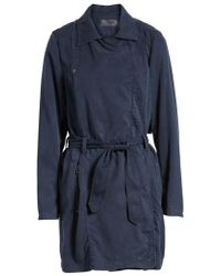 Blank NYC - Tencel Trench Coat - Lyst
