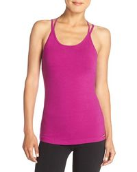 Hard Tail - 'double Cross' Stretch Cotton Camisole - Lyst