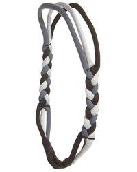 Zella - 'nomad' Braided Headband - Lyst