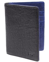 Will Leather Goods   'flip Front Pocket' Card Case   Lyst