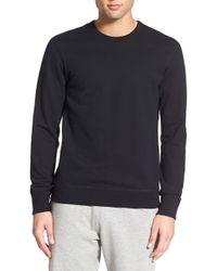 Steven Alan - Fleece Crewneck Sweater - Lyst