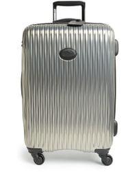 Longchamp - 'medium Fairval' Four-wheeled Hard Shell Suitcase - Lyst