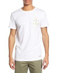 Rhythm | 'smooth Seas' Graphic Crewneck T-shirt | Lyst
