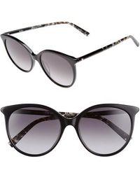 Max Mara - Tube 54mm Gradient Lens Cat Eye Sunglasses - Lyst