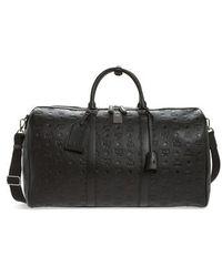 MCM - Ottomar Leather Duffel Bag - Lyst