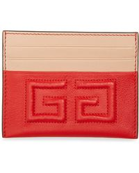Givenchy - Emblem Leather Card Case - - Lyst