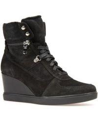 Geox - Eleni Wedge Sneaker - Lyst