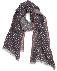 John Varvatos - Distressed Star Scarf - Lyst