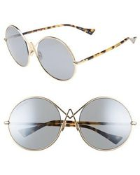 Altuzarra - 60mm Round Sunglasses - Lyst