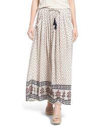 Dex - Print Boho Maxi Skirt - Lyst