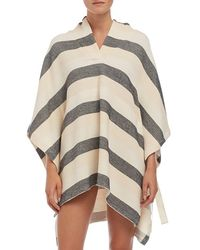 Solid & Striped - 'the Beach' Hooded Poncho - Lyst