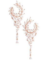 Nina - Fern Chandelier Drop Earrings - Lyst