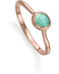Monica Vinader - 'siren' Small Stacking Ring - Lyst