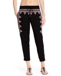 Green Dragon - Embroidered Beach Pants - Lyst