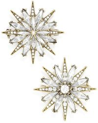 BaubleBar - 'north Star' Crystal Brooches (set Of 2) - Lyst