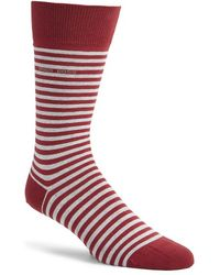 BOSS - 'marc' Stripe Socks - Lyst