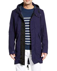 Spiewak - 'anderson' Hooded Canvas Fishtail Parka - Lyst